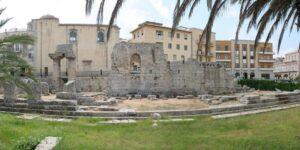 Tempio di Apollo: Il centro di Ortigia