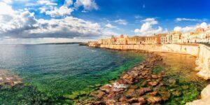 Isola di Ortigia: il centro storico della città di Siracusa